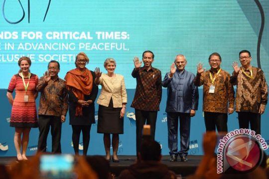Presiden saksikan penyerahan penghargaan Guillermo Cano WPF