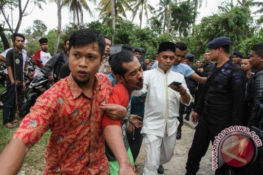 Polres Rohil razia tahanan kabur di perbatasan Riau-Sumut