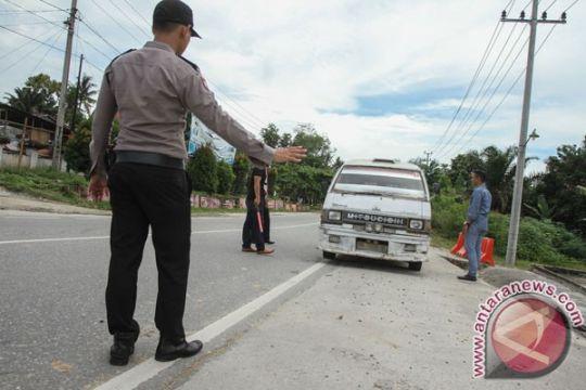 Polres Meranti periksa penumpang kapal dari Pekanbaru