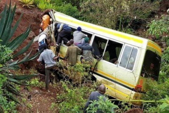 35 orang tewas akibat kecelakaan bus di Tanzania