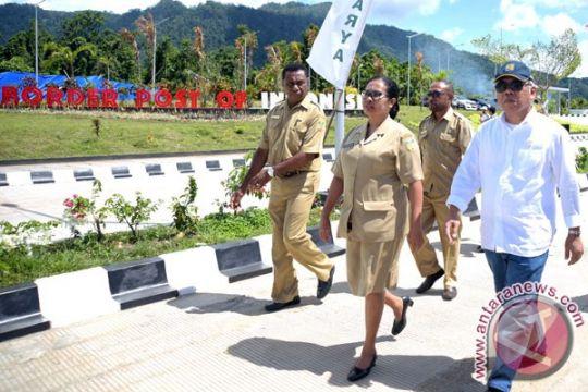 5.000 wisatawan kunjungi perbatasan RI-PNG