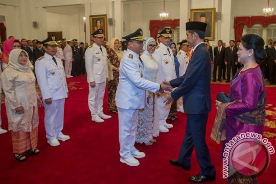 Presiden lantik gubernur-wakil gubernur Banten