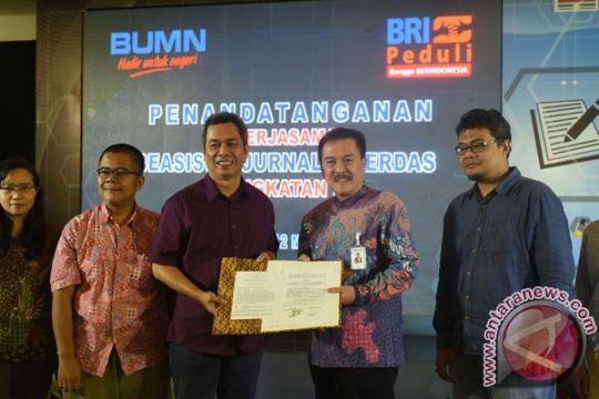 BRI beri beasiswa 32 jurnalis