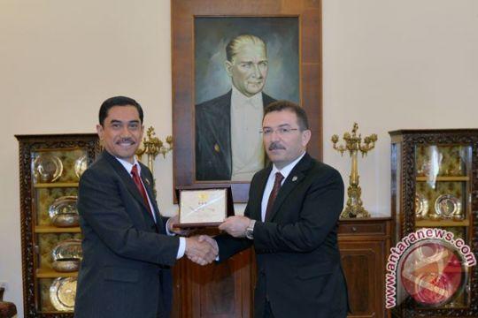 Indonesia-Turki tingkatkan kerja sama penanggulangan terorisme