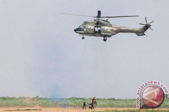 Prajurit TNI AU latihan bertahan hidup Lancang Kuning-18