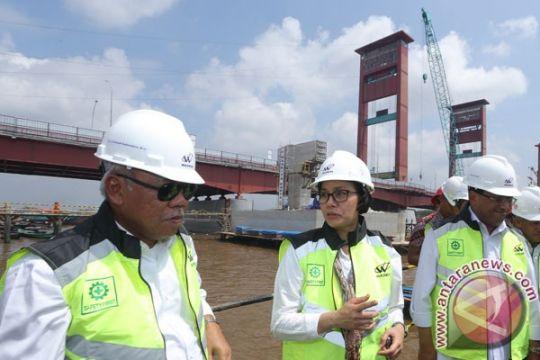 Tiga menteri tinjau infrastruktur Asian Games Palembang