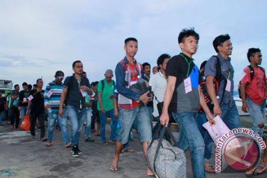 Malaysia usir 156 WNI bekerja ilegal di Sabah ke Nunukan