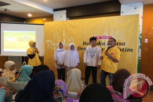 HokBen ajak 3.200 anak yatim buka puasa bersama