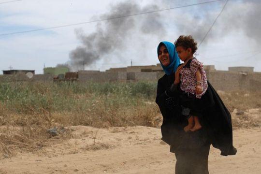 100.000 anak-anak Mosul terperangkap di daerah ISIS