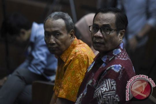KPK positif banding atas vonis terdakwa korupsi KTP-E