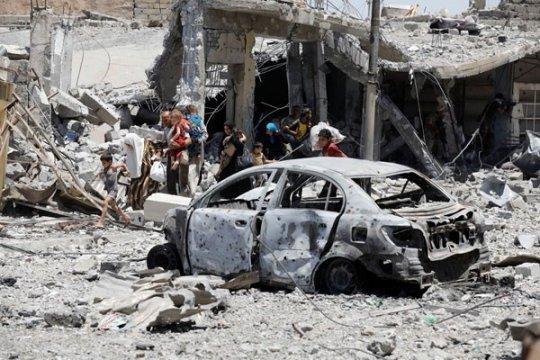 Tiga murid tewas terkena bom di dekat Mosul
