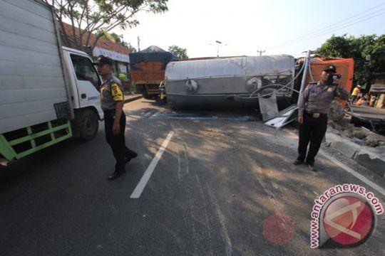 Jalan Raya Bandung-Cianjur kembali normal