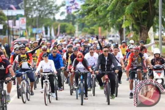 Gowes Nusantara bertransformasi jadi Sepeda Nusantara 2018