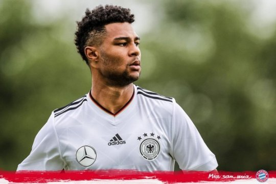 Bayern Muenchen boyong Serge Gnabry