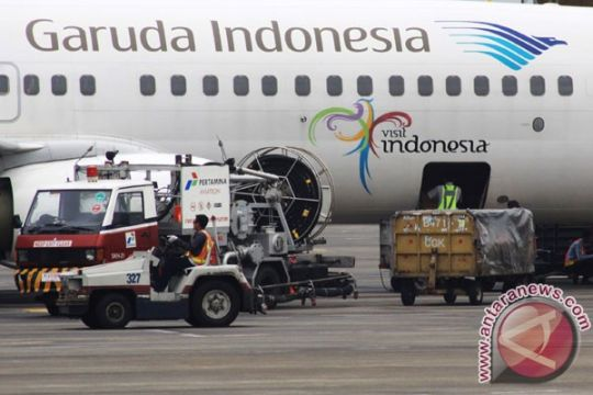 Garuda optimistis pendapatan kargo 270,8 juta dolar AS