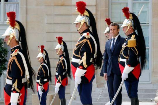 Macron tidak terima Prancis dituduh dukung terorisme di Suriah