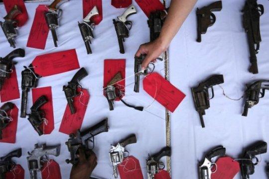 Polres Singkawang tangkap perakit senjata api