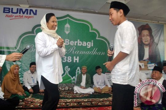 Rini Soemarno resmikan Mesjid Sinergi BUMN di Serang