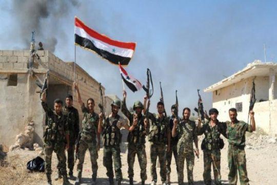 Militer Suriah rebut kembali daerah gurun dari ISIS