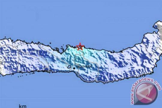 Gampa Bolaang Mongondow karena aktivitas lempeng laut Sulawesi