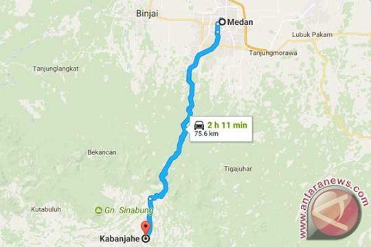 Jalan lintas Sumatera Kabanjahe-Medan lengang