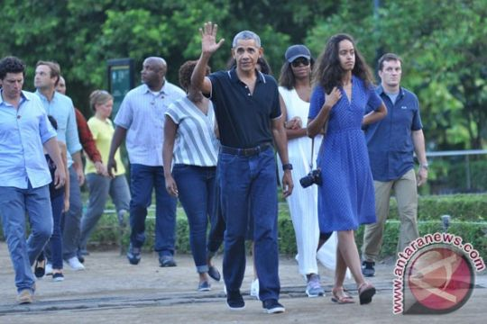 Sejumlah netizen pilih ucapan ultah anak Obama ketimbang HUT AS