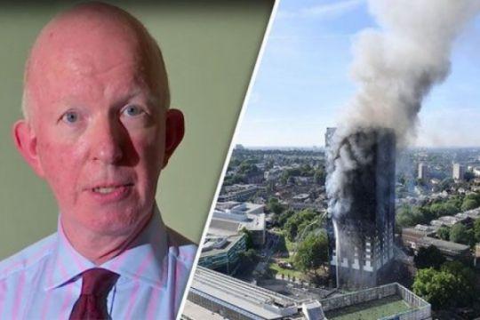 Kepala wilayah apartemen maut di London undur diri