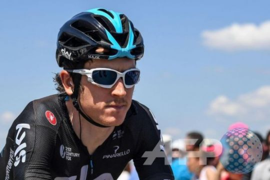Geraint Thomas rebut kemenangan etape Tour de France