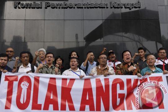 Dialog pansus hak angket KPK dengan napi Tipikor tertutup