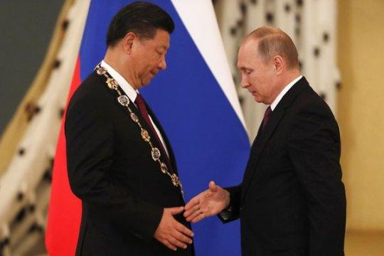 Xi, Putin bersua di St. Petersburg