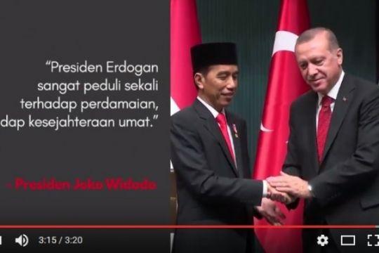 """Kemarin Jokowi """"nge-vlog"""" bareng Erdogan hingga pemeran baru Ayat-Ayat Cinta 2"""