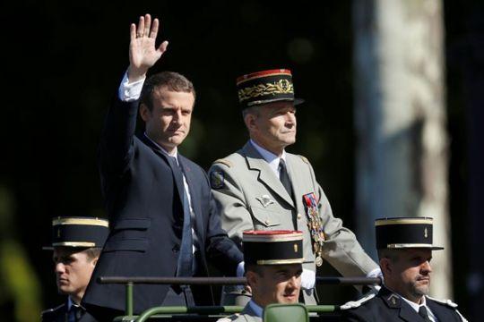 Macron telepon Sisi bahas perang Suriah