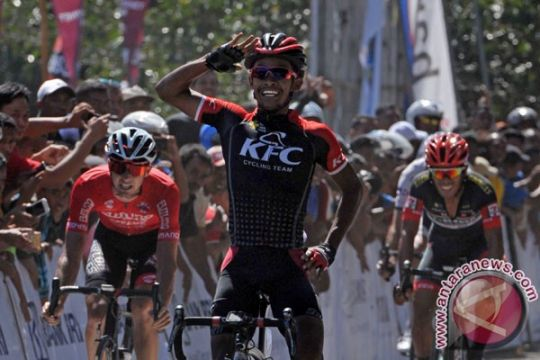 Imam raih kemenangan kedua di Tour de Singkarak 2017