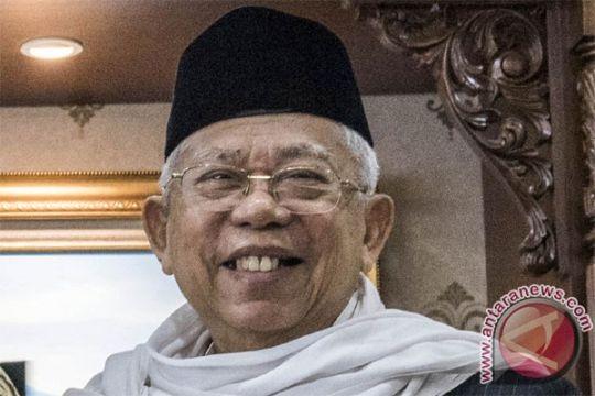 Ma`ruf Amin gagal terbang akibat Bandara Lombok ditutup
