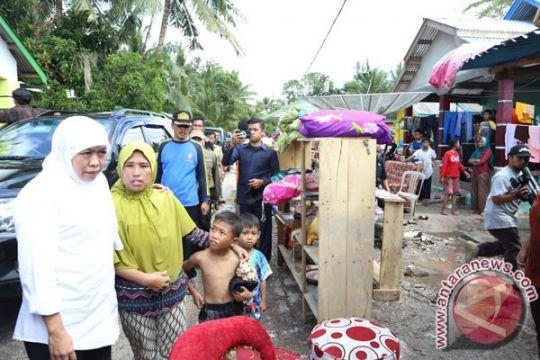 Belitung Timur mendata infrastruktur rusak karena banjir
