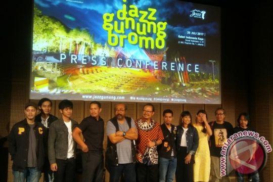 Monita, Glenn Fredly siap ramaikan Jazz Gunung Bromo 2017