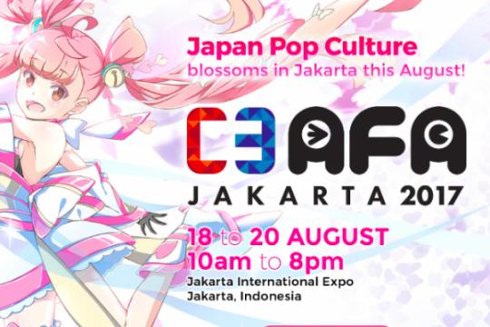 Daftar konten dan bintang tamu C3 AFA Jakarta 2017