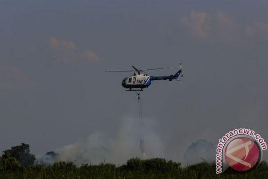 BPPD kerahkan tiga helikopter padamkan kebakaran hutan Indragiri Hilir