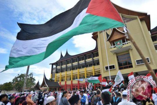 Ribuan warga Sumbar gelar aksi solidaritas Palestina