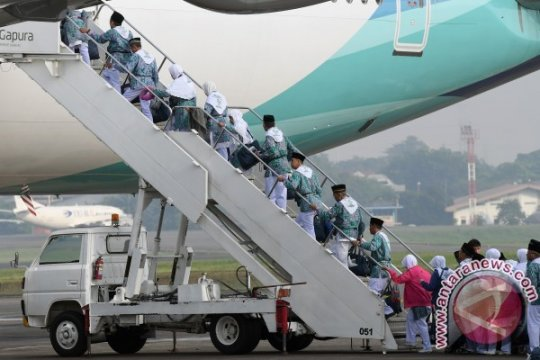 Haji batal, Garuda kehilangan 10 persen pendapatan