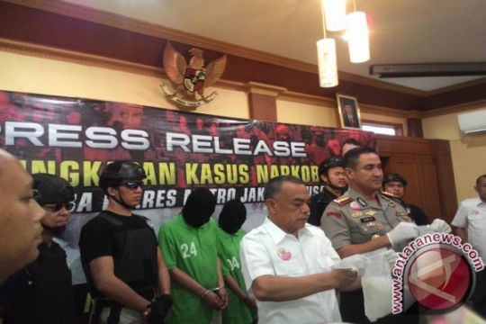 Polres Jakarta Pusat amankan pasutri bandar sabu