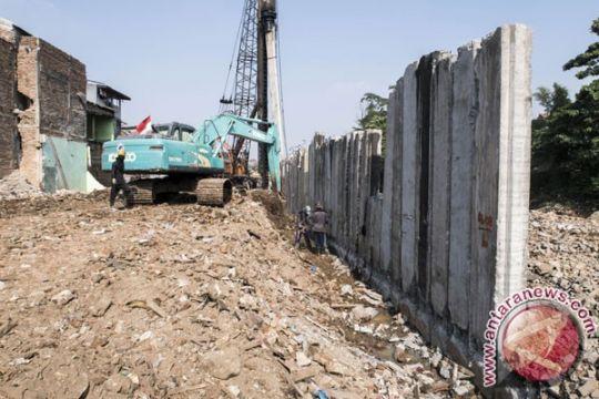 Pembebasan lahan kendala normalisasi Kali Ciliwung