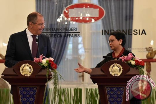 Menlu RI-Rusia bertemu bahas kerja sama bilateral