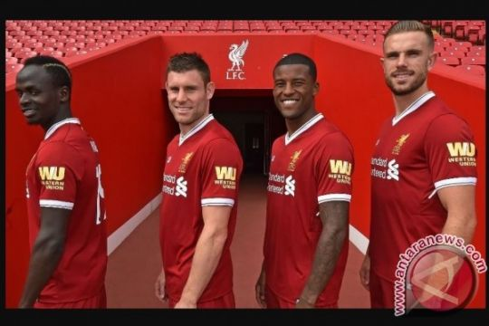 Liverpool gandeng Western Union untuk sponsor lengan perdana