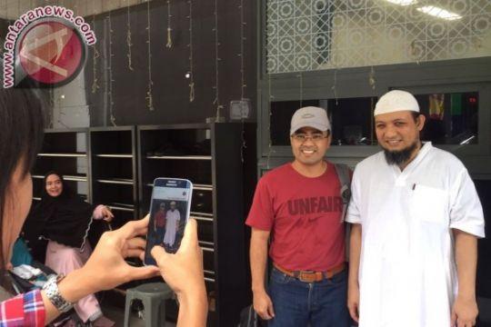 Novel Baswedan disambut ratusan pegawai KPK dan aktivis