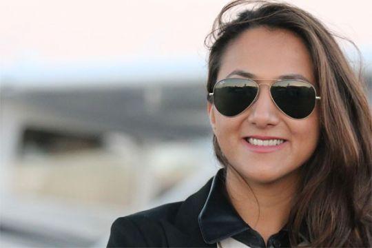 Perempuan pilot keturunan Afghanistan keliling dunia mendarat di Bali