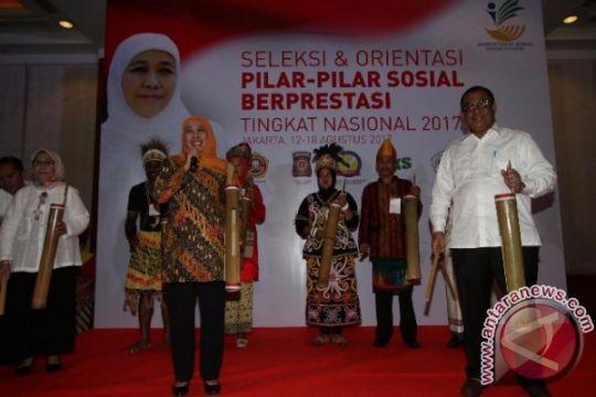 Mensos Khofifah minta komitmen Pilar Sosial jaga NKRI