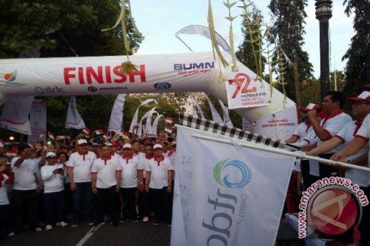 Ribuan warga Bali meriahkan jalan sehat BUMN