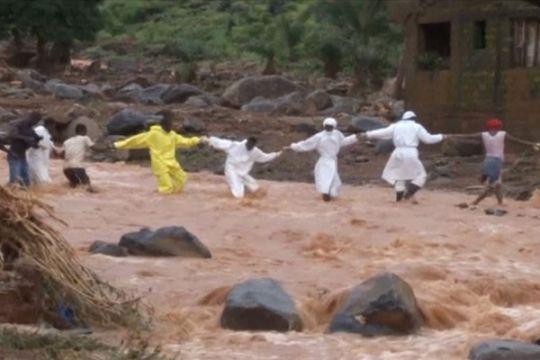 Ratusan orang masih hilang akibat tanah lonsor di Sierra Leone
