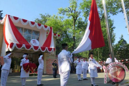 Upacara HUT RI di Beijing jadi ajang reuni